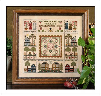 Orchard Valley Quilting Bee by Little House of Needleworks