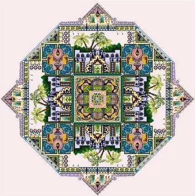 Oriental Hareem garden by Chatelaine