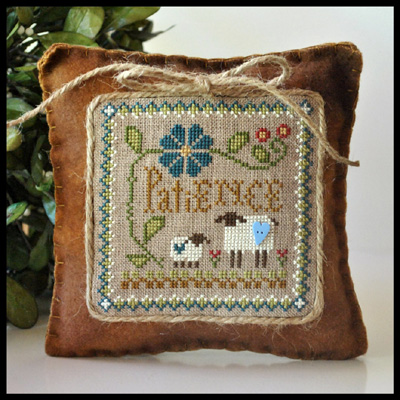 Little Sheep Virtues Patience by Little House Needleworks