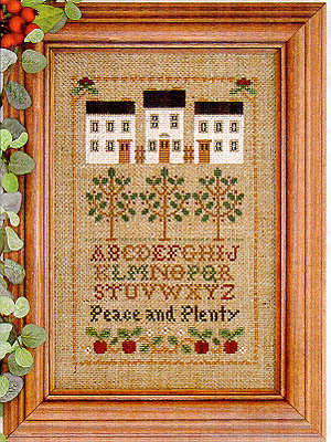 Peace And Plenty by Little House of Needleworks