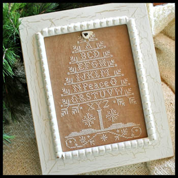 Peace Tree by Little House of Needleworks