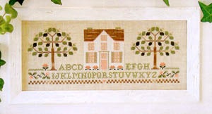 Peach Tree Cottage by Little House of Needleworks