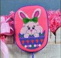 Pepperberry Designs Peeking Bunny
