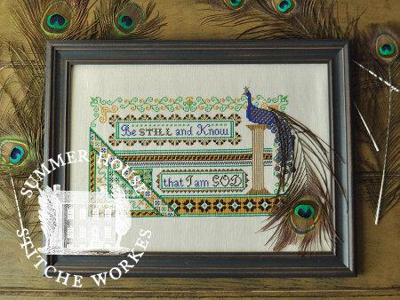 Summer House Stitche Workes The Persian Bird