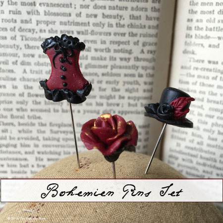 Bohemiem pins by The Primitive Hare