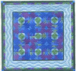 Pineapple quilt by Laura J.Perin Designs