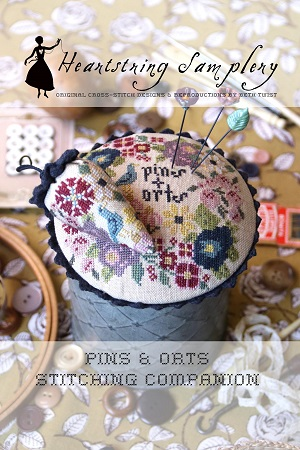 Heartstring Samplery Pins & Orts Stitching Companion