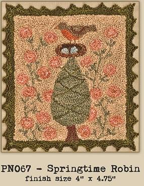 Teresa Kogut PN067 Springtime Robin