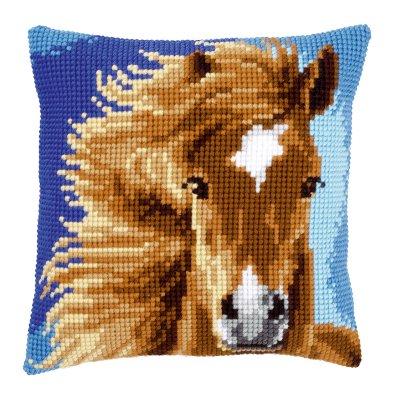 Vervaco Brown horse pillow,PNV149463