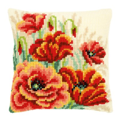 Vervaco Poppies pillow,PNV149724