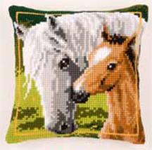Horse Cushion,PNV144668,Vervaco