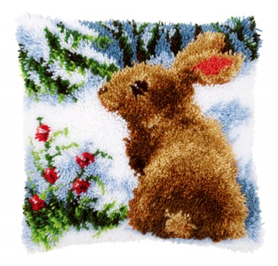 Rabbit in the snow,PNV147712,Vervaco
