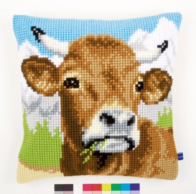 Vervaco Cow with horns,PNV148000