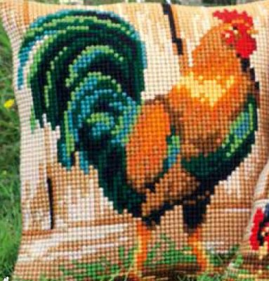 Vervaco PNV140108 Rooster cushion