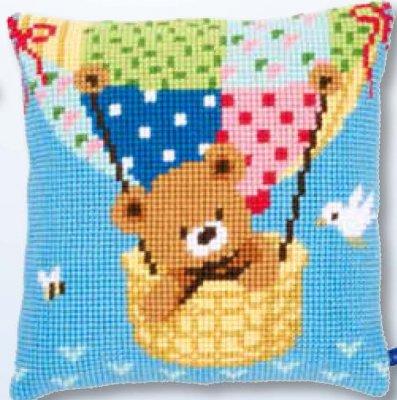 Bear in Hot Air Balloon,PNV153590,Vervaco