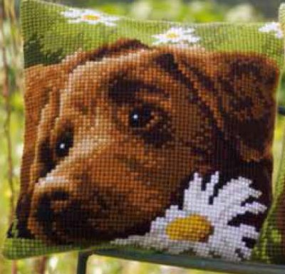 Vervaco PNV153855 Chocolate Labrador