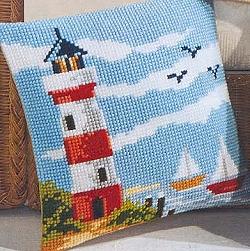 Vervaco Lighthouse Cushion,PNV8601