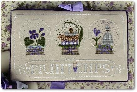 Madame Chantilly Printemps (Spring)