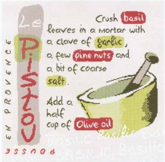 Provence recipe La Pistou by Lili Points