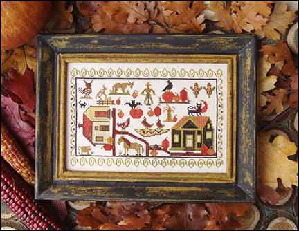 Pumpkin Farm by Carriage House Samplings