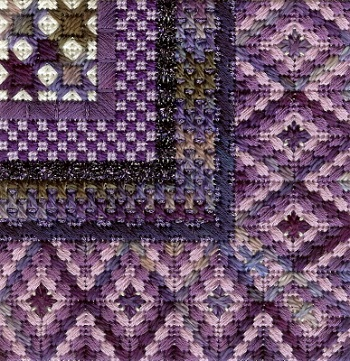 Color Delights-Purple by Needle Delights Originals