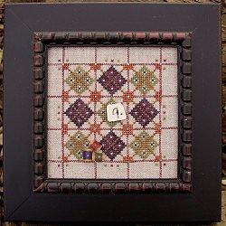 Samsarah Design Studio Alphabet Baubles -Q is for quilt