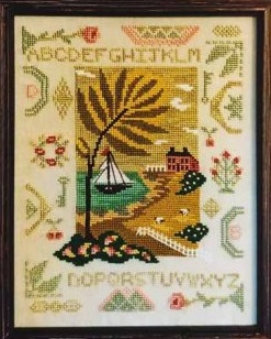 By the Bay Needleart By The Bay Quaker Sampler