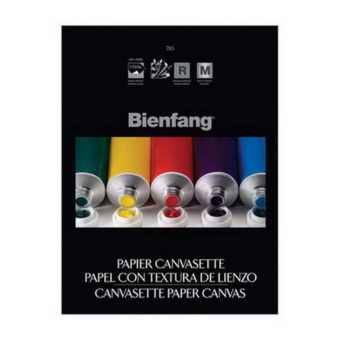 Bienfang Canvas Paper Pad 9X12 10 Sheets