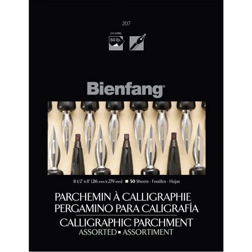 Bienfang Calligraphic Parchment Paper Pad 9X12 50 Sheets