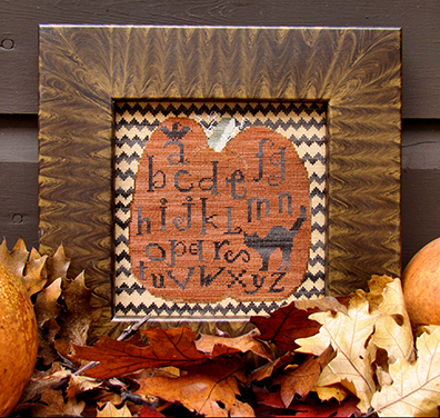 Ravens & Pumpkins & Cats, Oh My! by Carriage House Samplings