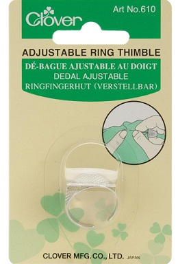 Ring thimble by Clover
