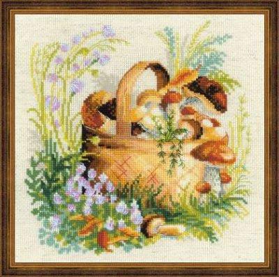 Mushroom Basket,RL1363,Riolis