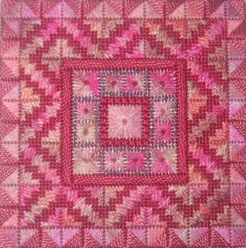 Color Delights-Rose- by Needle Delights Originals