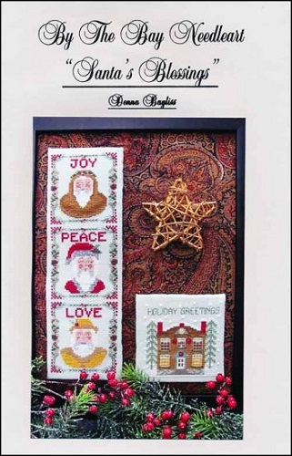 By the Bay Needleart Santa's Blessings