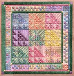 Color study Sawtooth sampler by Laura J.Perin Designs