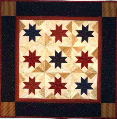 Scrap stars quilting kit by Rachael's of Greenfield