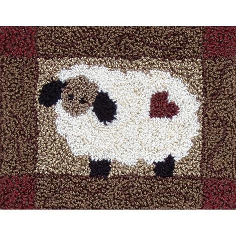Rachel's of Greenfield Punch Needle Sheep