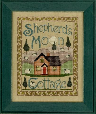 Elizabeth's Designs Needlework Shepherd's Moon Cottage