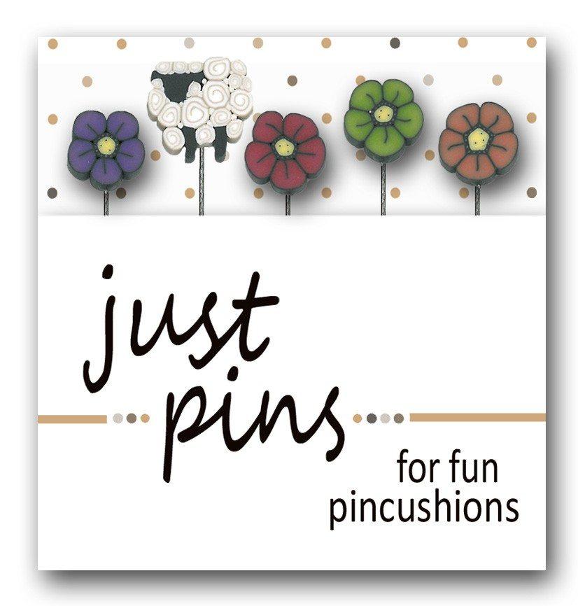 JUBCO Shepherd's Wildflowers pin set