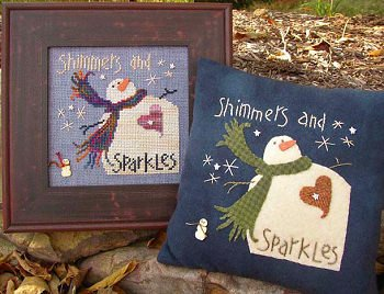 Shimmers ans sparkles by Samsarah Design Studio