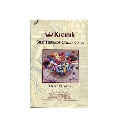 Kreinik Silk color card
