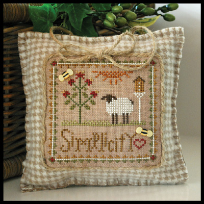 Little Sheep Virtues Simplicity by Little House of Needleworks