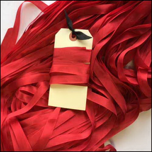 Sizzle Rayon Ribbon by Lady Dot Creations