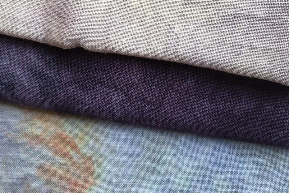 IN STOCK HAND DYED FABRICS