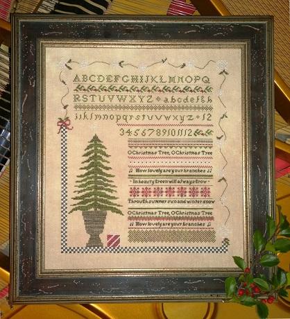 Samplers Not Forgotten O Christmas Tree