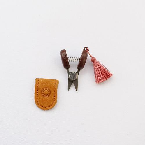 Mini Scissors from Seki (Pink)