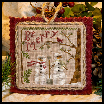 Snow in love by Little House of Needleworks