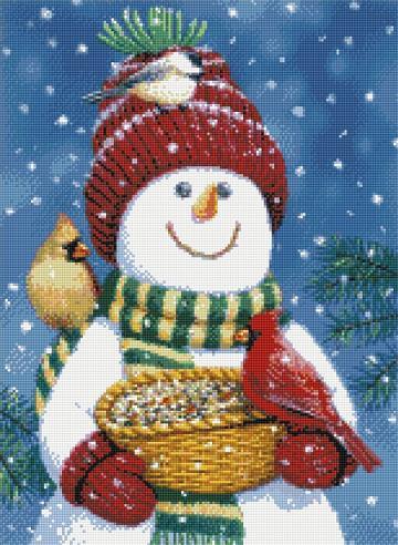 Snowman Friends-9974- by Kustom Krafts