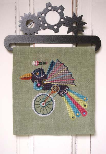 Steampunk Sparrow by Samsarah Design Studio
