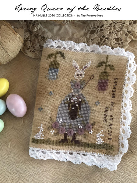 Spring queen of the needles by The Primitive Hare